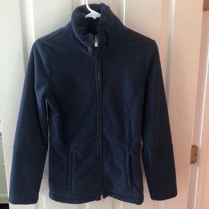 Lilly Pulitzer Navy zip up jacket